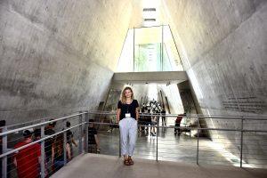 Luisa Seutter at Yad Vashem